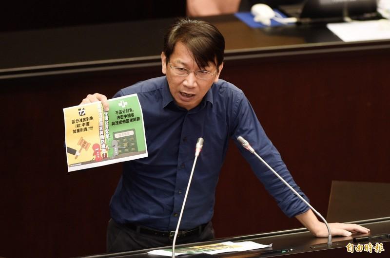 時代力量立委徐永明今日在臉書發文表示,「罷韓行動」立竿見影。(資料照)