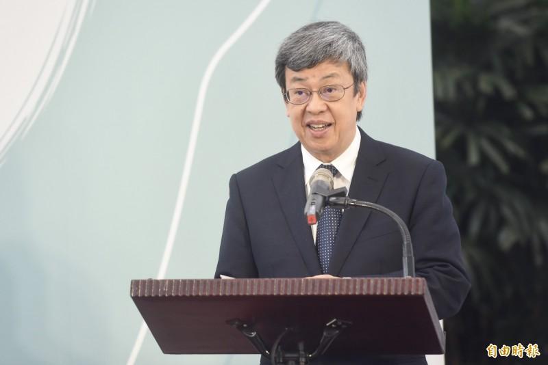 副總統陳建仁在臉書發文,將要求《The Lancet》更正。(資料照)