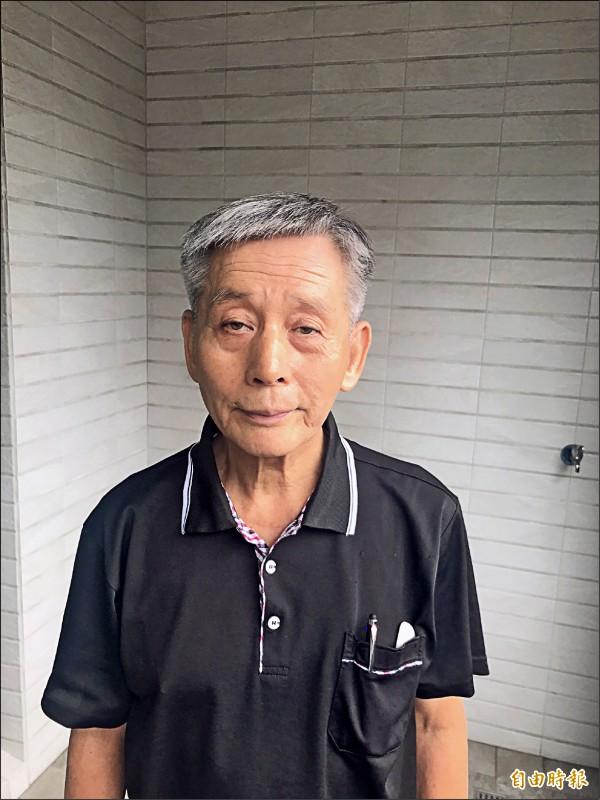 71歲楊天攢完成攻頂北大武山1千次,是台灣第一人。(記者洪臣宏攝)