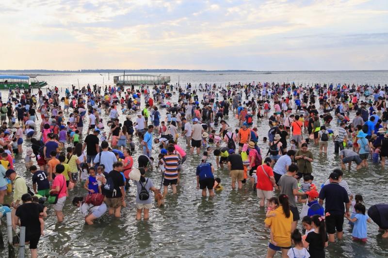 台南市政府7月起將台南旅宿每月主題日擴大為主題週,首推「海洋主題週」,住2晚有超值優惠,還可抽螃蟹粥、潟湖烤蚵、魚酥等海味好禮。(圖由南市觀旅局提供)