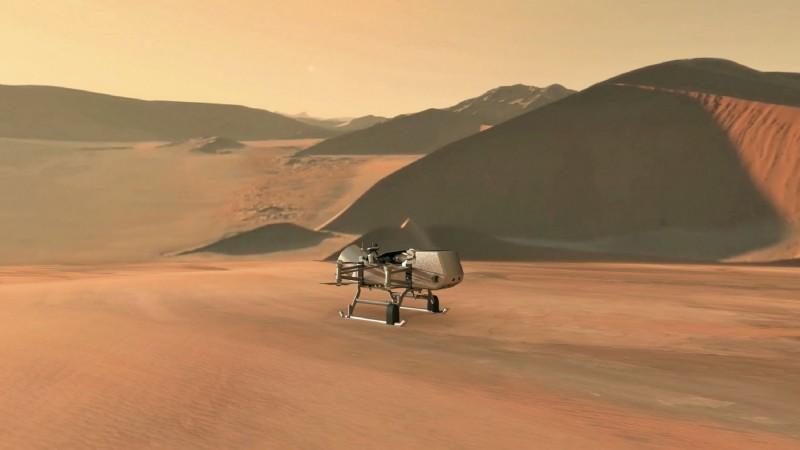 美國太空總署將派無人機探索泰坦星。(法新社)