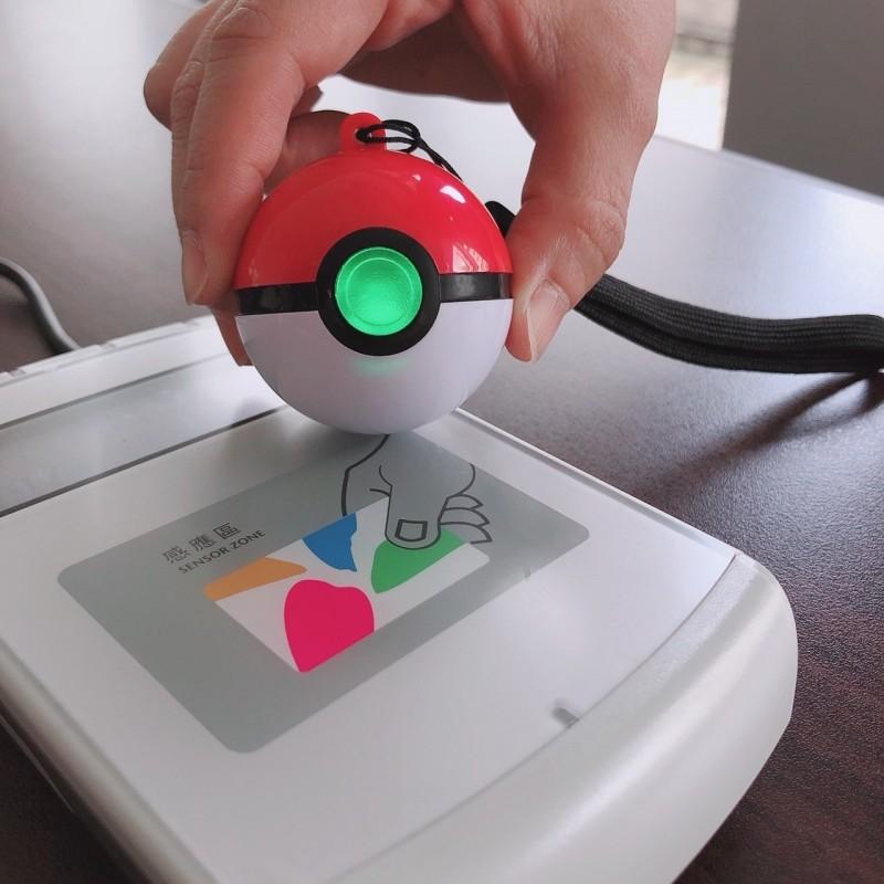 悠遊卡公司推出全球第一款「3D寶貝球造型悠遊卡」。(悠遊卡公司提供)