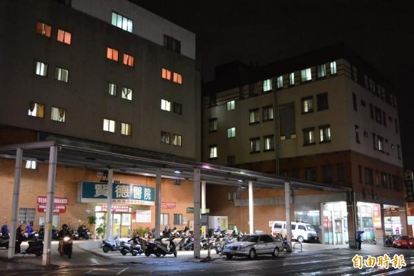 太平區賢德醫院。(資料照)