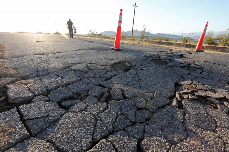 美國南加州在當時間4日發生規模6.4強震,為該地區25年來最強地震,超過2000萬人有感。(路透資料照)