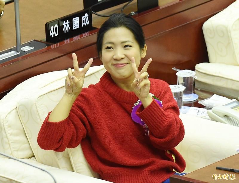 徐巧芯表示,還是要韓市長請韓粉「愛與包容」,包容年輕人。(資料照)