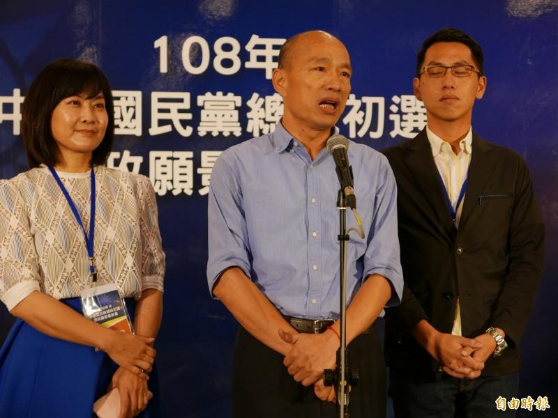 國民黨總統初選民調即將進行,但台中市藍綠議員私下聚會,發現願意主動表態自己是韓粉的比例變少。(資料照)