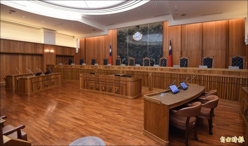 台灣大法庭制度,取經德國百年制度。(資料照,記者劉信德攝)