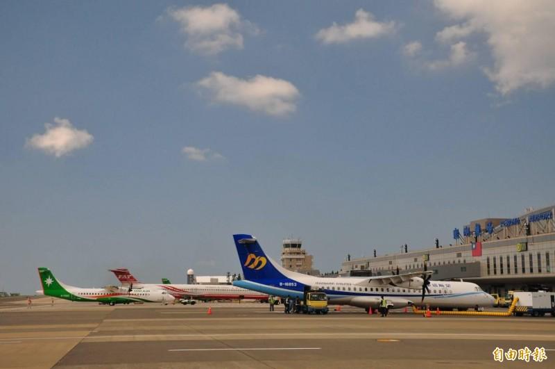 澎湖積極爭取與台東同等待遇,搭乘國際線轉國內線行李托運標準一致。(記者劉禹慶攝)