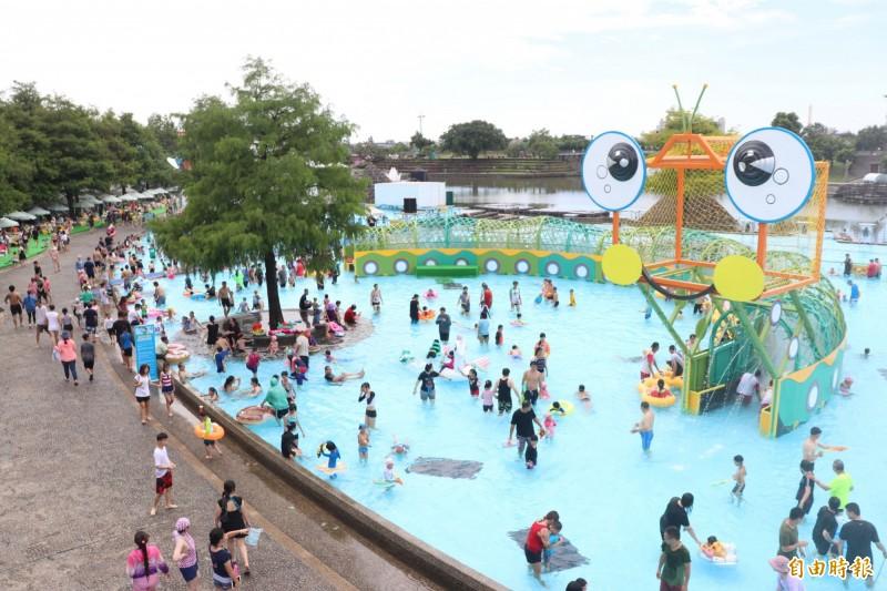 宜蘭童玩節本月6日開幕,為期44天。(記者江志雄攝)