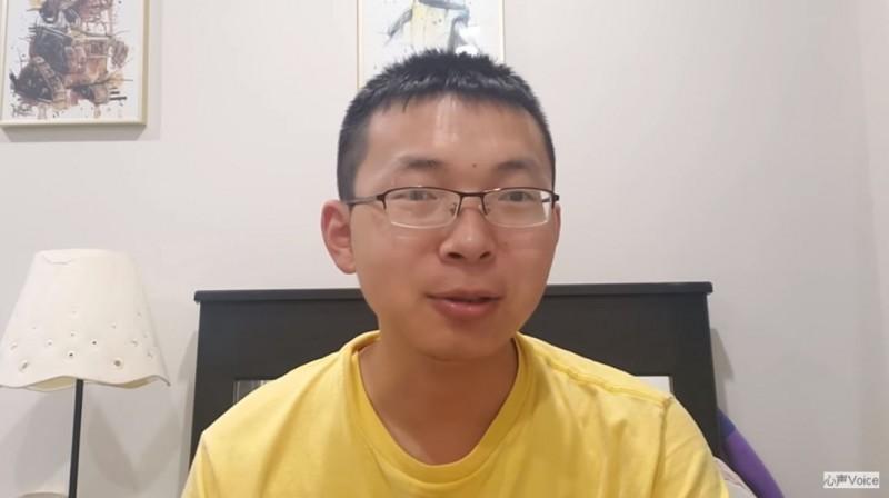 「江蘇小哥」劉大聖8日談到移民美國的台灣外省第二代「戀中國情節」超誇張,讓他這個中國人都自嘆不如,但他強調,連很多中國老百姓都知道台灣明明是「外國」。(圖擷取自YouTube)