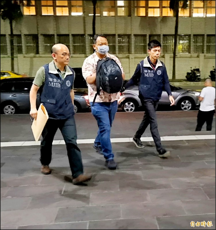 勇實貿易公司陳姓實際負責人涉詐貸,遭移送台北地檢署。(記者黃捷攝)