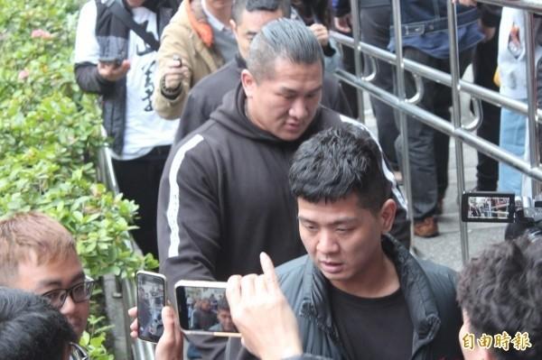 館長陳之漢之前到新北地檢署開庭。(資料照)