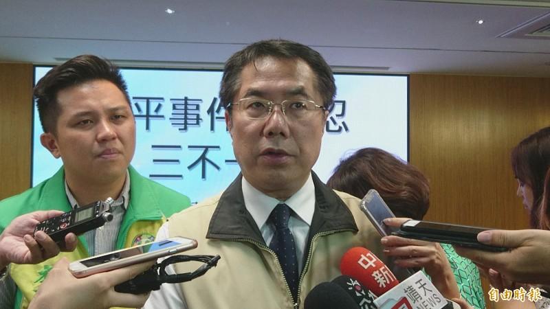 台南市長黃偉哲認為,若中央補助差額,樂見軍公教調薪。(記者劉婉君攝)