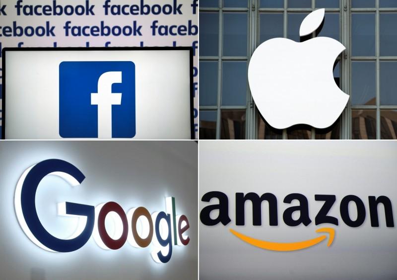 法國參議院不顧美方抗議和威脅,今日同意實施「數位服務稅」,未來估計每年可以從科技公司徵得台幣175億元的稅收。(法新社)