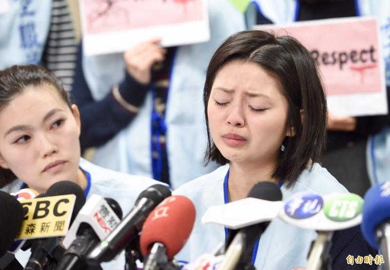 長榮航空今天上午召開人評會決定開除涉及霸凌言論的空服員郭芷嫣,但可在14天內提出申訴救濟。(資料照)