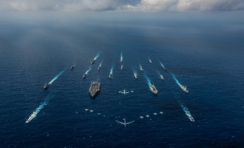 米萊表示,在當前的局勢下,中國還只是美國的對手與競爭者,尚未發展成敵人,但美方應做好相關準備。(路透)
