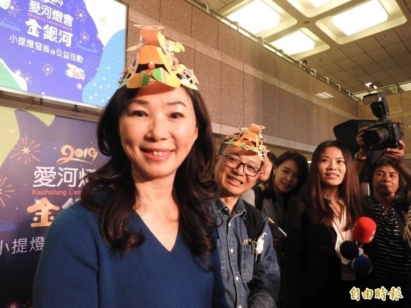 高雄市長韓國瑜妻子李佳芬。(資料照)