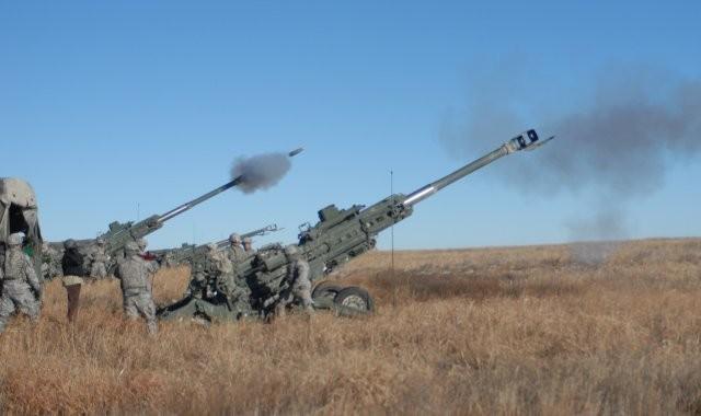 美軍現役M777牽引砲。(取自美國陸軍網站)