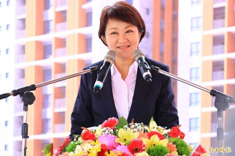 23家台灣網媒替中共喉舌,當中18家被台中市議員江肇國爆料設在台中。圖為台中市長盧秀燕。(資料照)