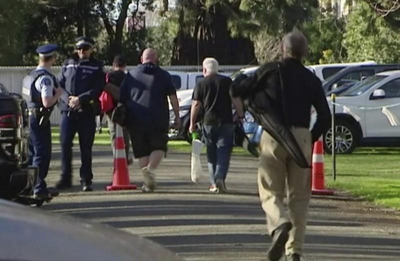 紐西蘭基督城13日率先展開槍枝回購行動,總計有169名槍械持有者交出224把槍枝。(美聯社)