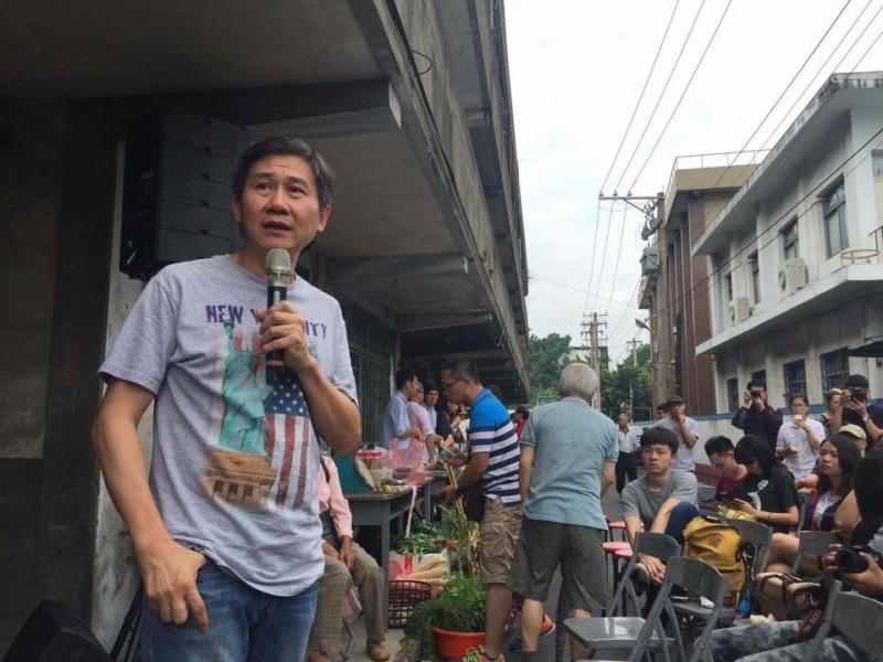 陳文彬説,韓國瑜一點都不好打,民進黨切莫輕敵。(記者顏宏駿翻攝)(記者顏宏駿攝)
