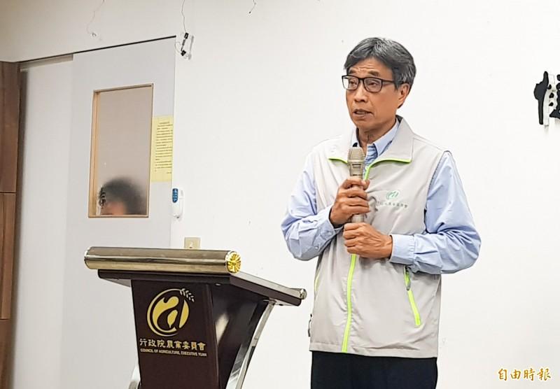農委會副主委陳駿季。(記者簡惠茹攝)