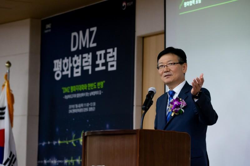 南韓統一部副部長徐虎。(圖取自南韓統一部官方網站)