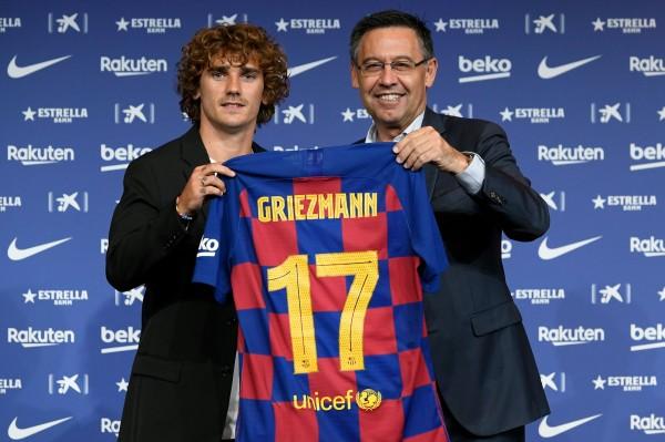 足球》葛里茲曼將身披巴薩17號 非萬眾期待的7號