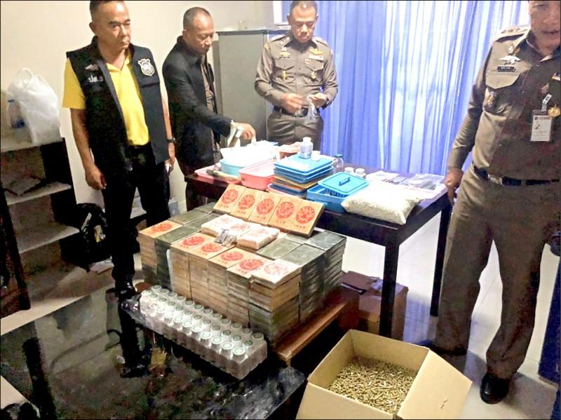 台美泰聯手 起獲2億元毒品