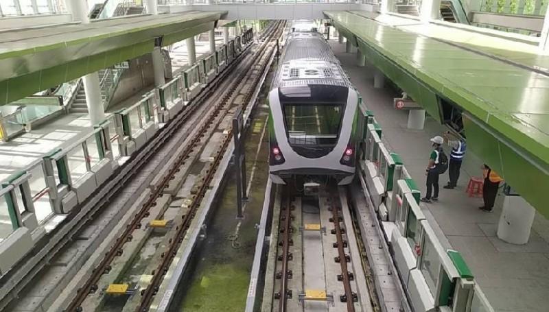 台中捷運開始試車,但民怨太吵。(圖:交通局提供)