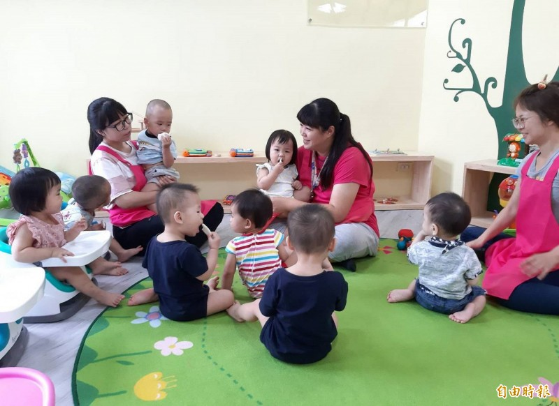 台南市今年計畫在北區及中西區,設置2處公共托嬰中心,預計可收托70名0-2歲幼兒。(記者劉婉君攝)