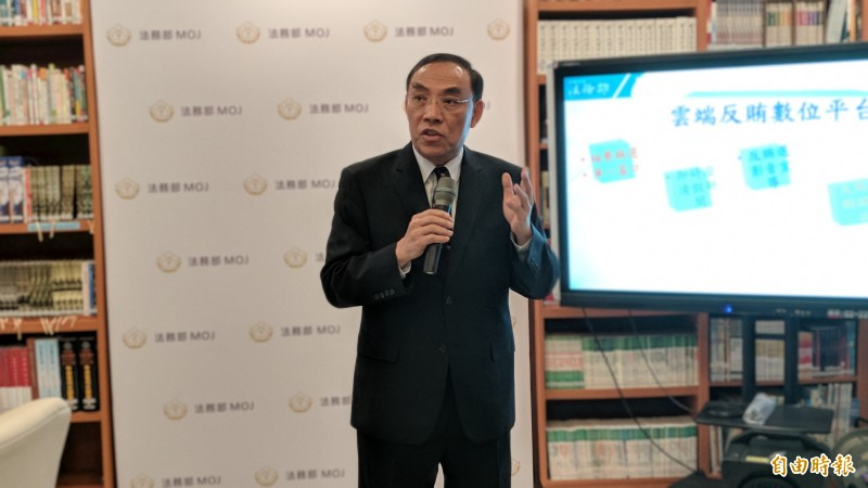 法務部長蔡清祥表示,查賄不能淪為嘉年華式的大活動,曇花一現就過了。(記者吳政峰攝)