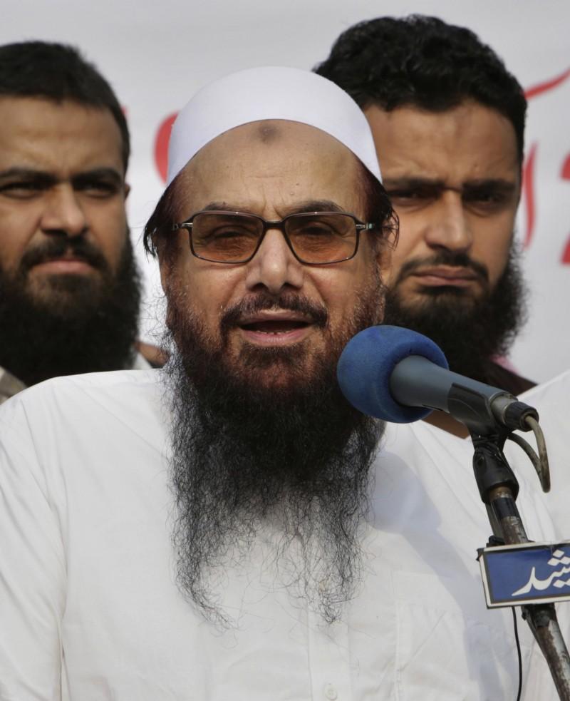 巴基斯坦17日將2008年孟買連環恐怖襲擊案的幕後主謀薩伊德(Hafiz Saeed)逮捕歸案。(美聯社)