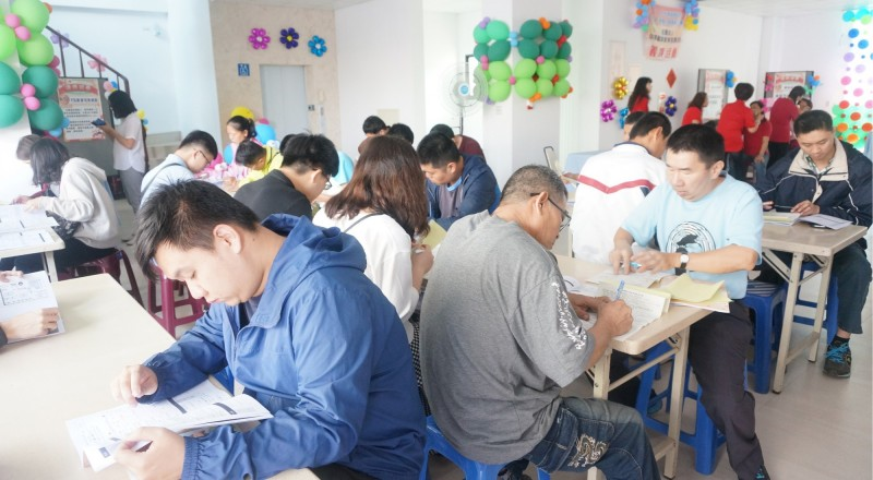 永康就業中心20日將在台南高工活動中心舉辦大型徵才活動。(永康就業中心提供)