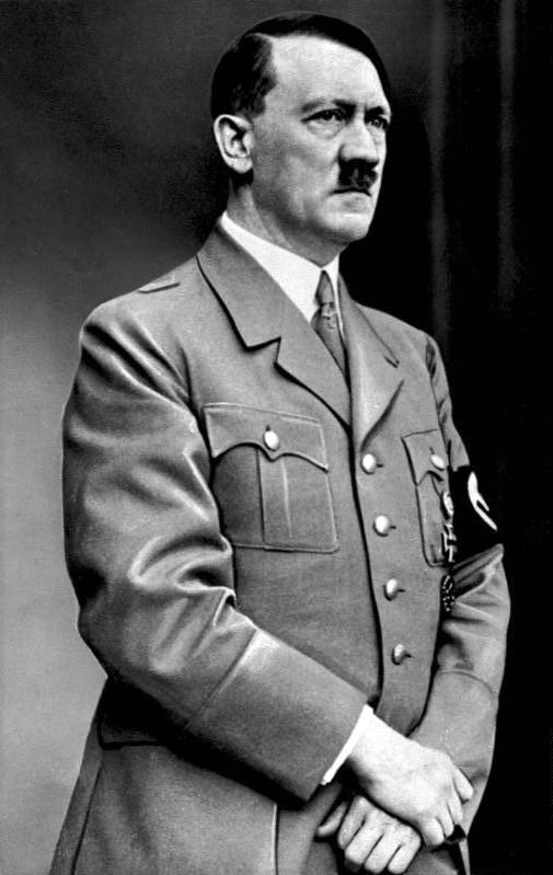 政治大學法律系副教授林佳和指出,其實當年很多德國人覺得希特勒是「草包」,低估了民粹可能帶來的危害。(Wikimedia Commons)