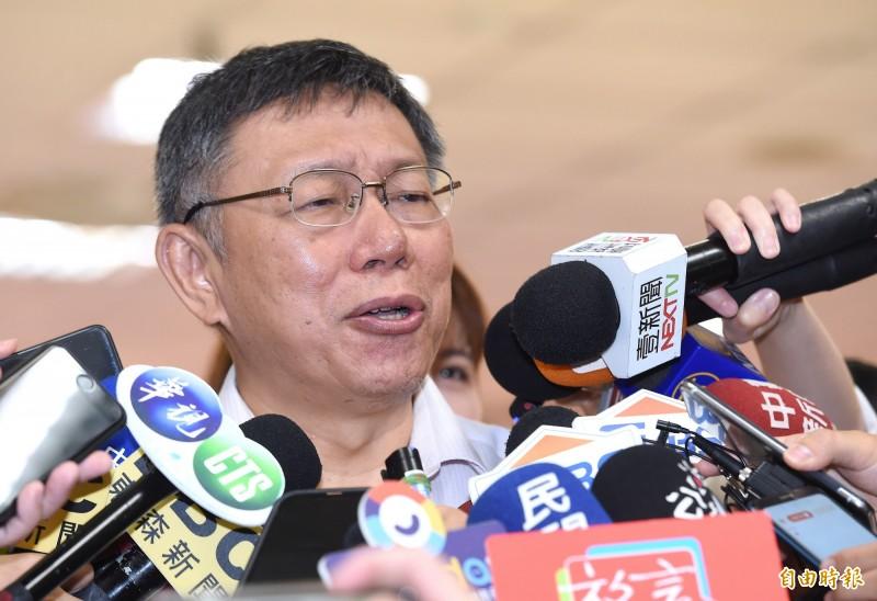 卓榮泰稱跟自由民主站一起 柯再酸:大家都是智商超過70成年人