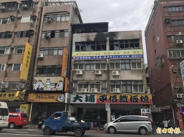 出租公寓大火奪走一名房客生命。(資料照)