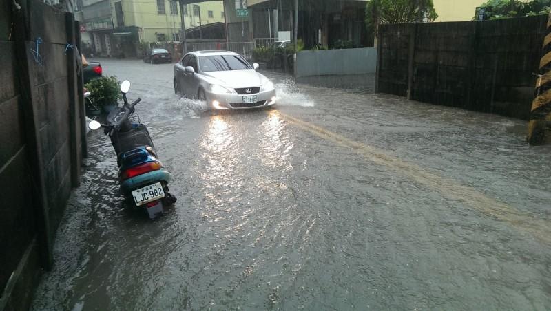 潭子區仁愛路二段221巷遇雨即淹 水利局爭取補助改善