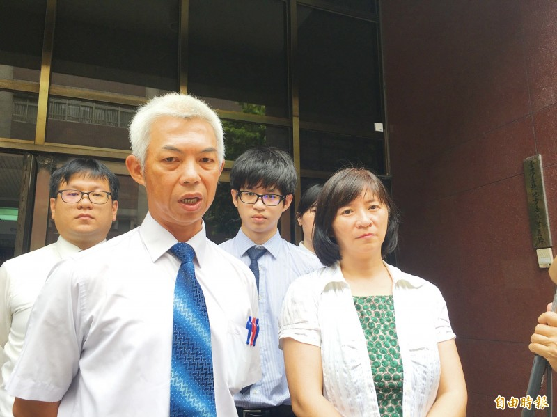 《TAIPEI TIMES》Ex-police chief cleared in protest crackdown case