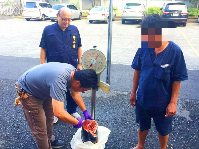 《TAIPEI TIMES》 Suspected whale, dolphin meat seized