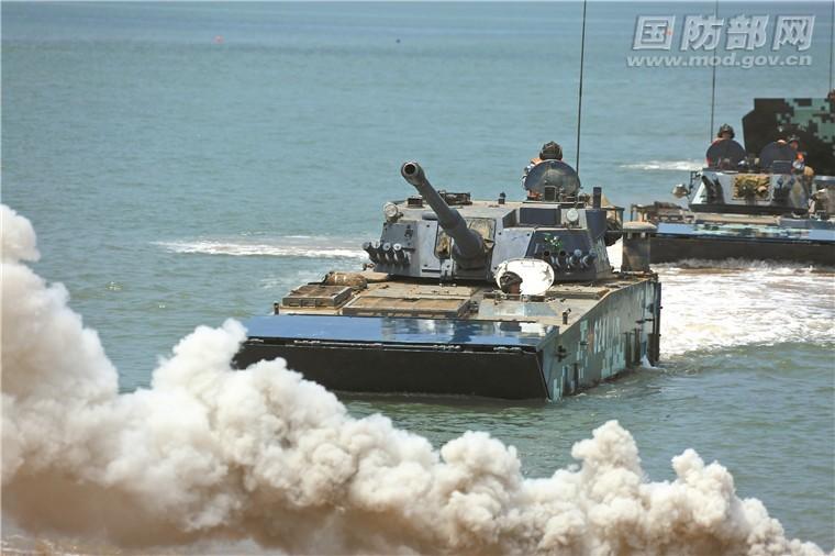 中國軍演「高規格」? 傳將在東山島進行兩棲登陸操演
