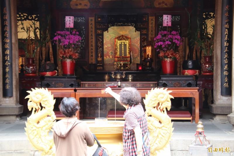義民爺信仰是客家人很重要的傳統文化。(記者黃美珠攝)
