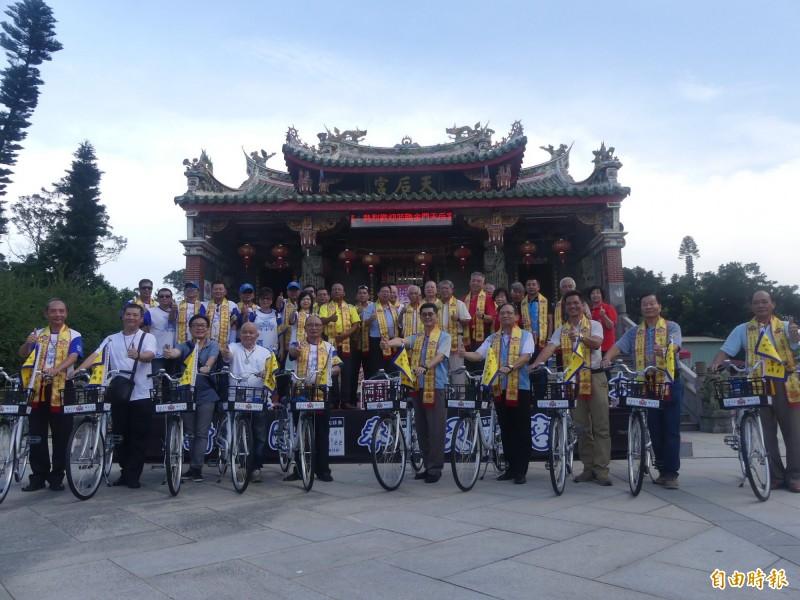 歡慶蒞台400週年 奉天宮開台媽祖「騎福金門」