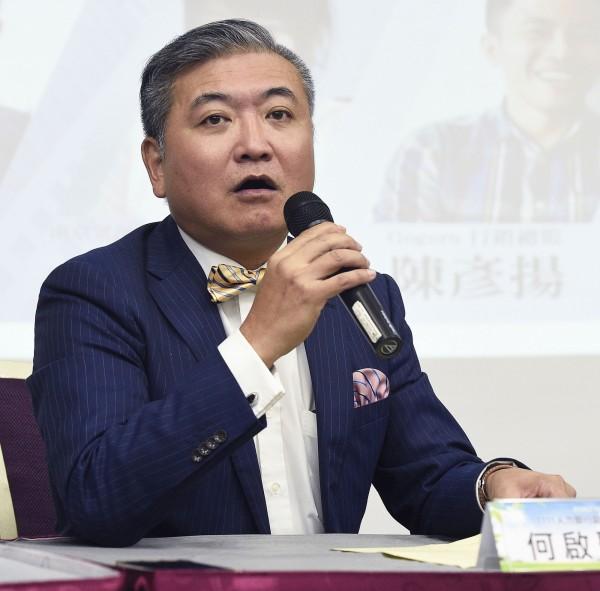 1111人力銀行副總經理何啟聖(資料照)