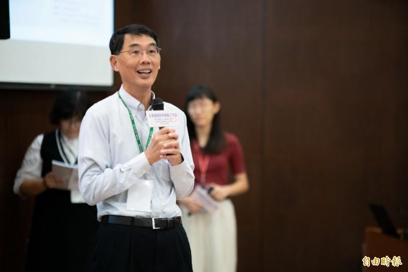 台大社會系教授陳東升肯定中山大學社區經驗。(記者黃旭磊攝)