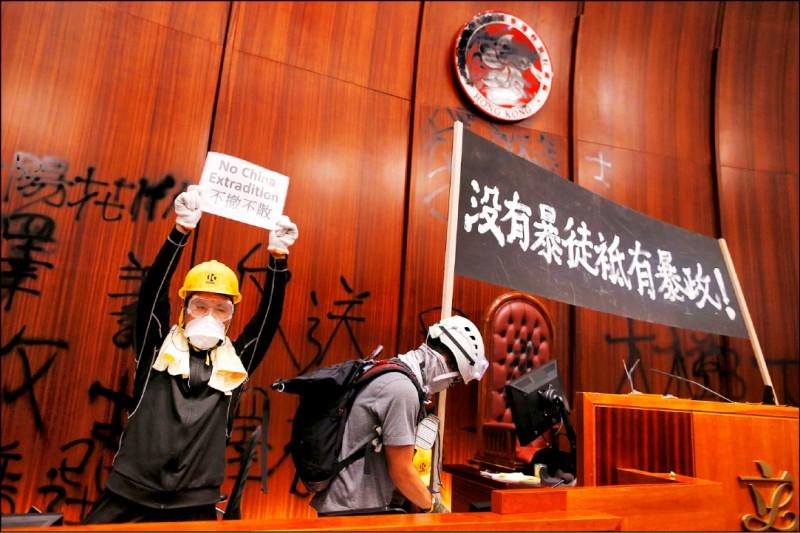 香港目前面臨的危機,在於鄧小平大言不慚的承諾—這個前英國殖民地在一九九七年移交中國後將維持高度自治,五十年不變—到底還算不算數。(路透檔案照)