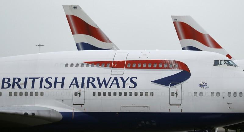 英國航空宣布,自20日起連續7天暫停所有飛往開羅的航班。(美聯社)