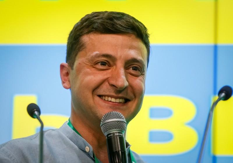 烏克蘭國會大選,總統澤倫斯基所屬的「人民公僕黨」將創下自蘇聯垮台以來,首次完全執政的歷史。(路透)