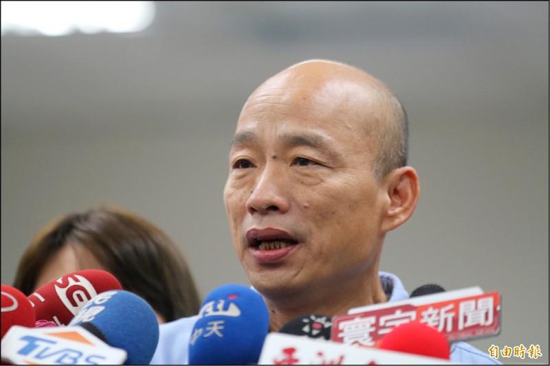藍委支持韓國瑜以市政為主。(記者葛祐豪攝)