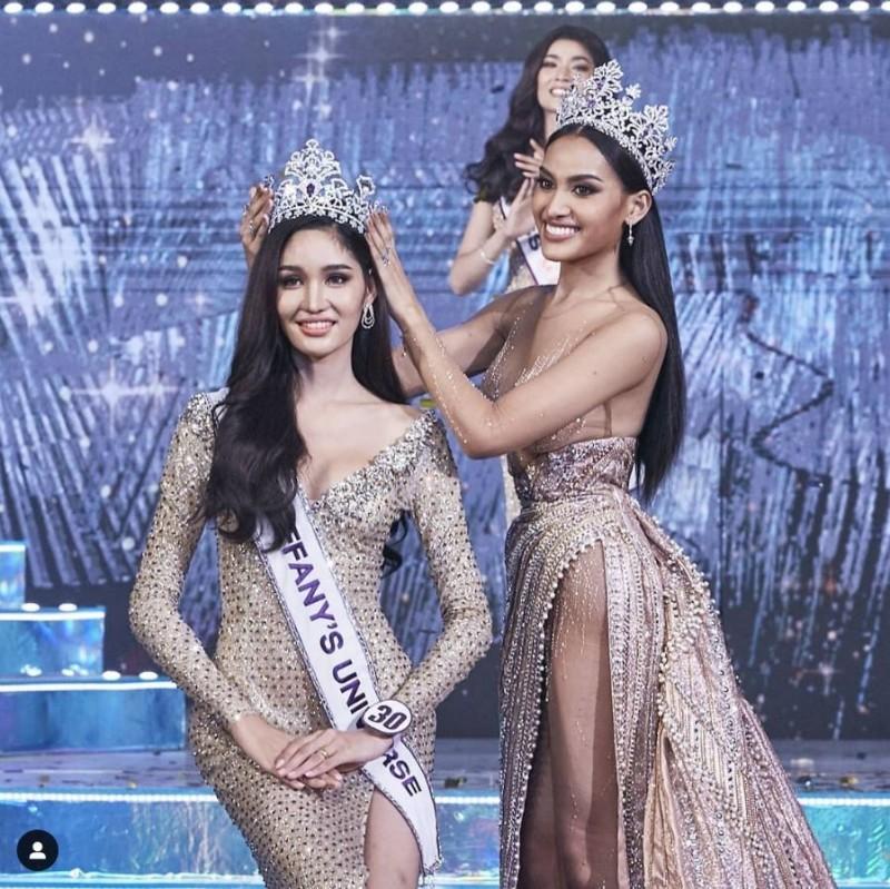 泰國蒂芬妮環球小姐冠軍出爐 身高180網讚胸下都是腿